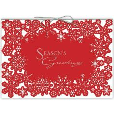 7 best non denominational holiday cards office friendly images on red snowflakes cards from the fine impressions intricuts collection find this pin and more on non denominational holiday m4hsunfo