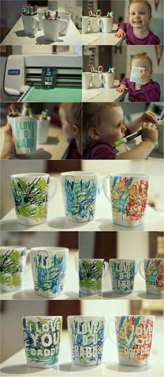 Geweldig idee om als cadeau te geven aan papa of mama. opa of oma!
