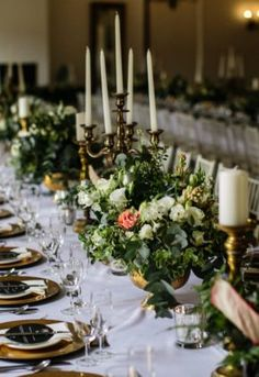 A stunning combination of black, green & gold – with pop of blush, worked so well . April Wedding, Flower Decorations, Green And Gold, Special Day, Nostalgia, Blush, Candles, Seasons, Natural