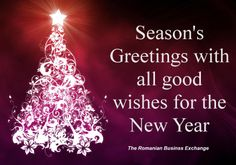 The Romanian Business Exchange team wishes you Happy Holidays!