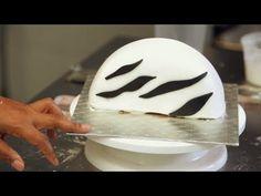 Fondant Zebra Stripes for Purse Cake | Birthday Cakes