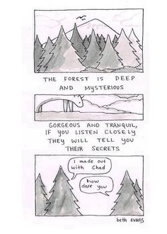 Mother Nature has many secrets...