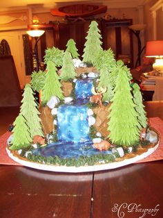 Wilderness Cake for cub scouts