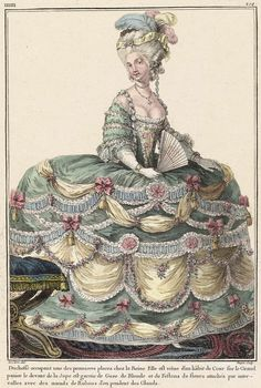 marie antoinette fashion plates - Google Search