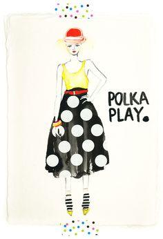 Polka Play by Janice Law. So cute!!