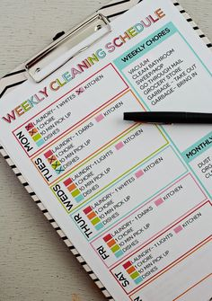 11 Free Printable Checklists to Help You Conquer Spring Cleaning via Brit + Co