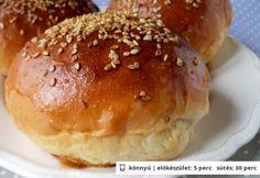 Hamburgerzsemle Tündér konyhájából