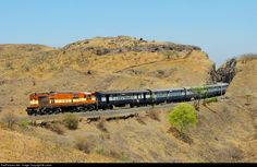 13558 Indian Railways WDG-3A at Shindavane, Pune, Maharashtra, India by Lalam
