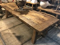 Pin on wonen Dining Room, Dining Table, Lunch Room, Oak Table, Home And Living, Sweet Home, Wood, Furniture, Home Decor