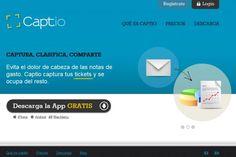 Captio #Eurekas! Captura de tickets y gestión de gastos desde tu Smartphone Startups, Smartphone, Chart, Report Cards, Management