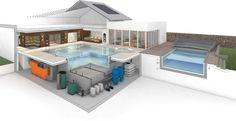 MLZ Pools & Wellness, Ansprechpartner für Architekten und Planer vom Entwurf bis zur Ausführung.