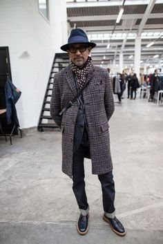 See the most stylish guys browsing the stands at London's big menswear trade fair