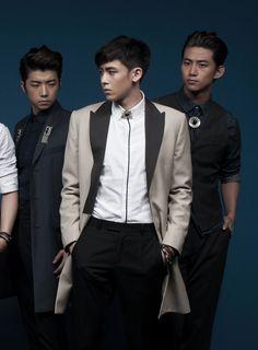 2PM's Wooyoung, Nichkhun, & Taecyeon // K Wave // July 2013