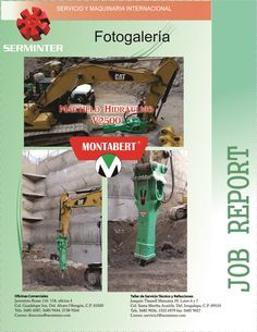Serminter, Venta de martillo hidráulico V2500 marca montabert a Grupo Carso.