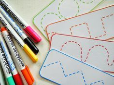 sol da eira: Treinar a motricidade fina Preschool Writing, Preschool Learning, Writing Activities, Kids Learning, Teaching, Writing Area, Pre Writing, Motor Activities, Preschool Activities