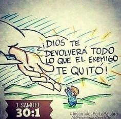 Dios te devolverá