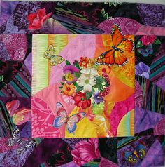 Allie's in Stitches: A Cotton Approach to Crazy Quilting