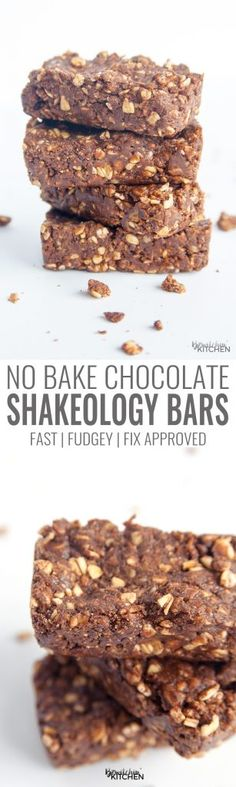 No bake chocolate Sh