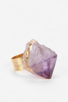 Dipped In Gold Ring  #UrbanOutfitters