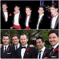 NKOTB then and now .... I like the Remix!