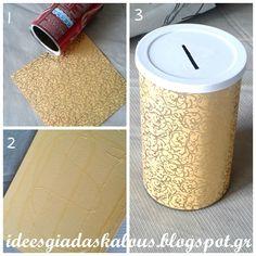 Ιδέες για δασκάλους: Με δικούς μας κουμπαράδες, θα μαζέψουμε παράδες!!! :-) Diy And Crafts, Crafts For Kids, Dose, Origami Boxes, Ramadan, Classroom, School, Diy Paper, Recycling