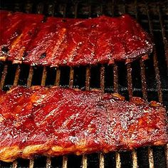 Smoked Barbecue Ribs