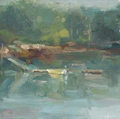 Christine Lafuente, Yellow Boat, Mossy Fog