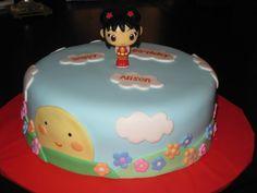 Ni Hao Kai-Lan cake for Gwen's birthday ?