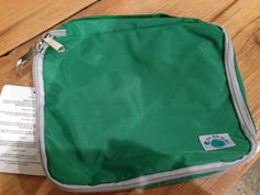 Great quick change bag-clean one side and dirty on the other. Call Petit Green for details.