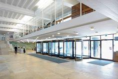 Porthania building of Helsinki University designed by architect Aarne Ervi.