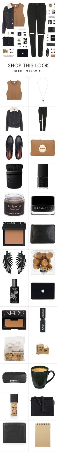 """""""YOU'RE THE ONE THAT I WANT"""" by c-hristinep ❤ liked on Polyvore featuring Kristin Hanson, Topshop, Poketo, Eos, Mimco, NARS Cosmetics, Sara Happ, Illamasqua, Givenchy and TokyoMilk"""