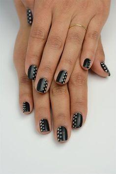 Love the chic twist on polkadots :)