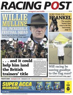 Racing Post Bbc, Champion, Challenges, Racing, The Incredibles, January 2016, Baseball Cards, Wednesday, Running