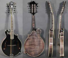 Weber Mandolins - The Weber Black Ice Mandolin