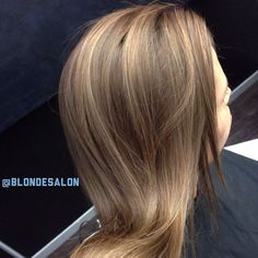 We still love you even if you're 25% blonde! 3 color Highlight and tone over natural brown hair #brunette #blonde #gorgeous #girl #hair #hairstylist #haircut #lahairstylist #colorist #stylist #hairpost #like4like #blondie #love #highlights #blondtourage #salon #behindthechair #comeinwereblonde