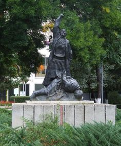 Monument in Bucharest