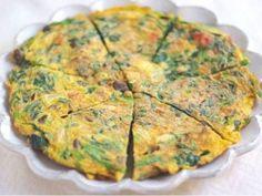 Kopřivová omeleta.