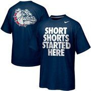 Nike Gonzaga Bulldogs Basketball Campus Roar - Navy Blue