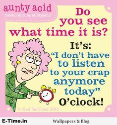 Aunty Acid  Time