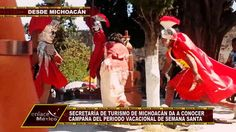 MICHOACÁN PRESENTA CAMPAÑA DE TURISMO PARA SEMANA SANTA