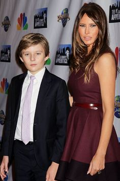 Here's why Melania and Barron Trump won't join Donald Trump during his rare visits to the White House.
