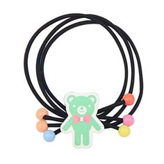 5PCS Girls Hair Elastics Hair Ties Ponytail Holders Hairdressing Accessories J -- Read more  at the image link. (This is an Amazon affiliate link and I receive a commission for the sales and I receive a commission for the sales)