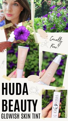 The new Huda Beauty GloWish Skin Tint is a hybrid makeup and skincare product that's available in 13 shades! Does it live up to the hype? #beautyblog #makeuproutine #makeupproducts #beautyblog Huda Beauty, Beauty Makeup, Eyes Lips Face, Tan Skin, Light Skin, Combination Skin, Makeup Routine, Blogging, Skincare
