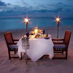 a romantic evening for two