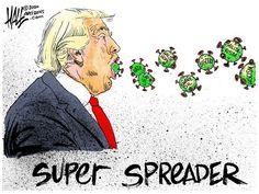 Funny Political Cartoons, Trump Cartoons, Political Satire, Funny Cartoons, Baby Ruth Bars, Donald Trump, Good Riddance, Actions Speak Louder, Humor