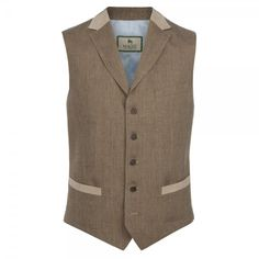 c967e2d5243 The Rossnowlagh suit - an Irish linen suit. The fabric is a rich beige  check