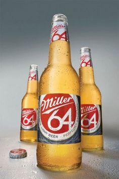 Beer bottle design from Miller #packaging
