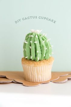 Cactus Cupcake Tutorial Video - The House That Lars Built