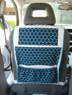 Car organizer - love THIS ONE! Need this but in a different pattern stat.