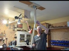 Wood Turning Camera Crane for the shop